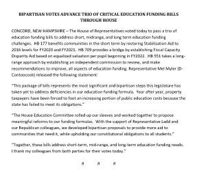 Ed Funding Bills